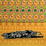 Zhang Hao, one night with king, propylene on canvas, 150x120cm, 2012