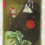 Monika Lin, Memory Boxes 3, found objects, resin, found box, 37 x 11.5 x 10cm, 2014
